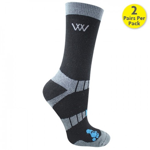 Woofwear Bamboo Short Riding Socks: Pack of 2 image #