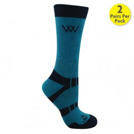 Woofwear Bamboo Short Riding Socks: Pack of 2