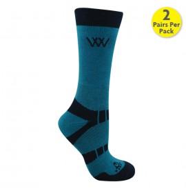 Woofwear Bamboo Short Riding Socks: Pack of 2