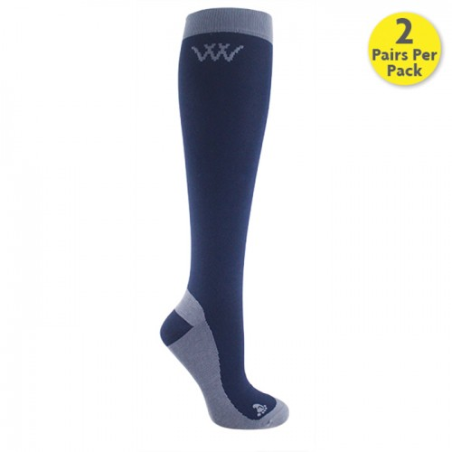 Navy/Grey Competition Sock
