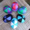 Standard Lycra Caps:Lycra segments- Purple/Red, Emerald Green/Royal Blue, Black/Kingfisher, Kingfisher/White, Black/Royal Blue, Purple/Emerald Green