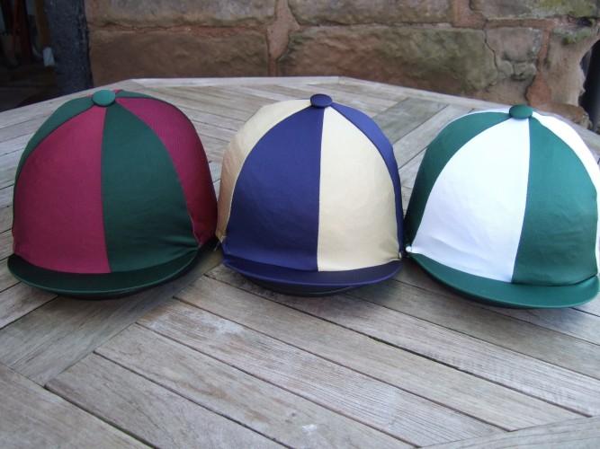 Lycra Segments- Dark Green/Maroon, Dark Blue/Gold, Dark Green/White