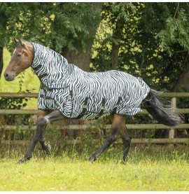 Zebra Fly Rug Combo by Gallop