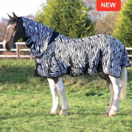 Zebra Combo Fly Rug by Gallop