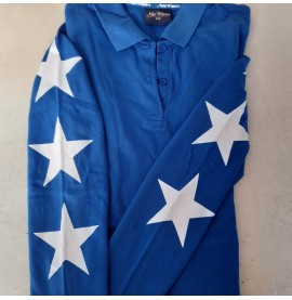 Royal Blue with White Stars