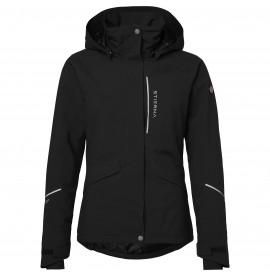 Stierna Stella Winter Jacket: Black