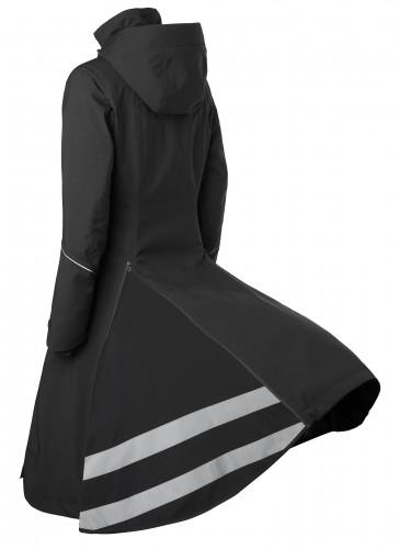 Stierna Winter Coat in black by Stierna