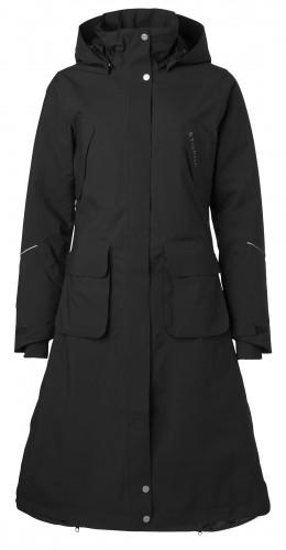 Stierna Winter Coat in black
