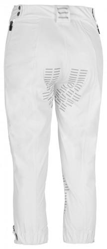 White Prime Trousers, rear view.