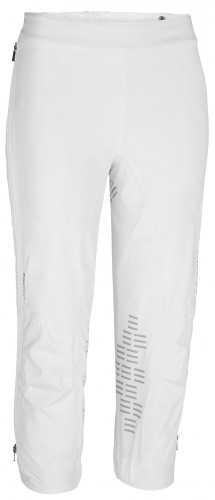 White Prime Trousers, front view