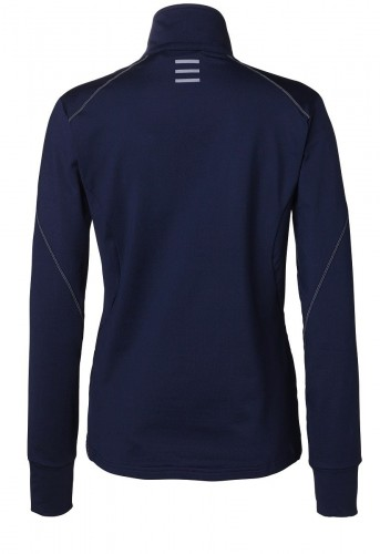 Navy Andromeda Fleece by Stierna rear view