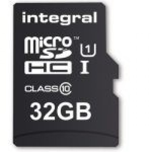 32Gb SD card for longer recording time.