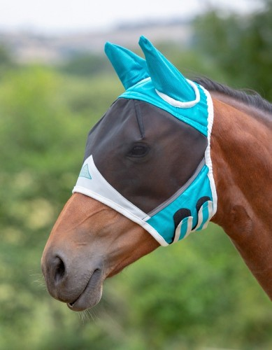 Shires Fine Mesh Fly Mask with Ears image #