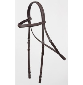 Training Bridle Head Dark Brown