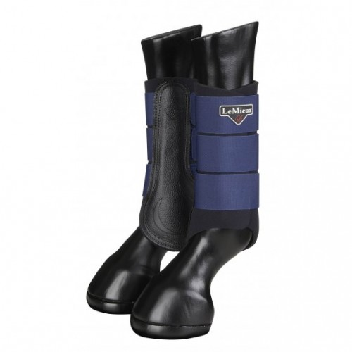 Ink Blue Grafter Brushing Boots