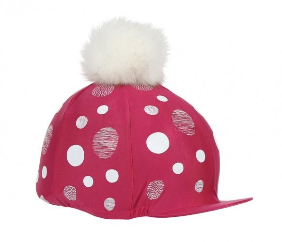 Pink Alverstone Lycra Cap