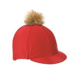 Plain Hat Cover & Faux Pom
