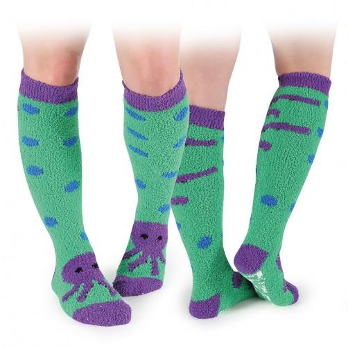 Octopus Fluffy Socks
