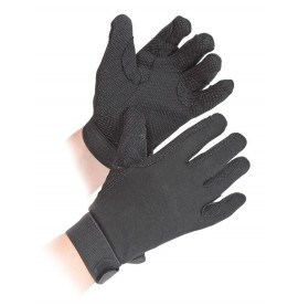 Childrens Newbury Black Gloves