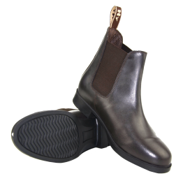 Durham Leather Jodhpur Boots