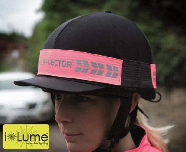 Bright Pink High Viz hat band