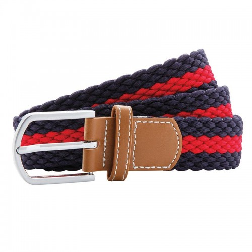 Two-Colour Stripe Braid Stretch Belt image #