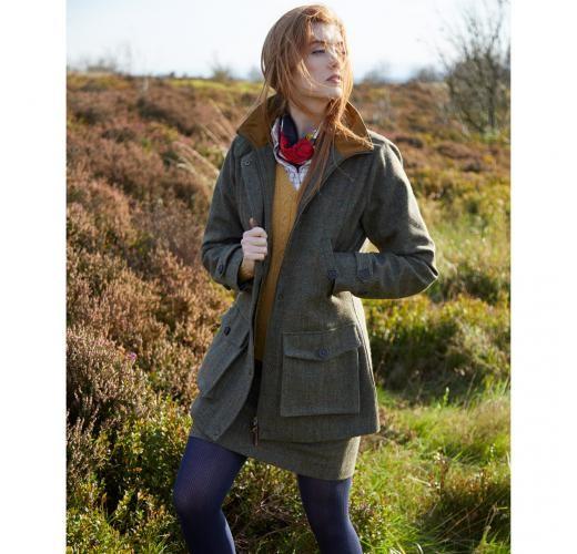 Toggi Ladies Fiennes Waterproof Tweed Field Coat