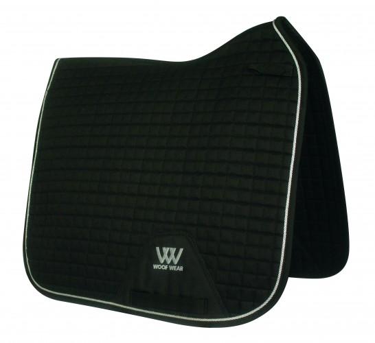 Black Woof Dressage Pad