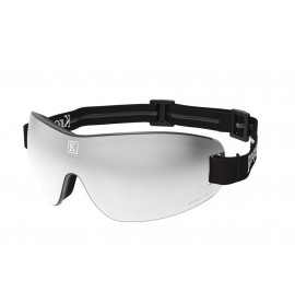 Grey mirror lens with black strap