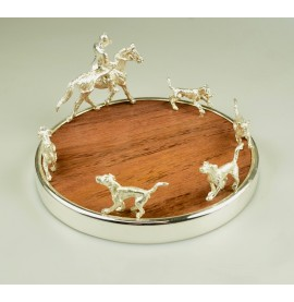 Hunting Bottle Coaster