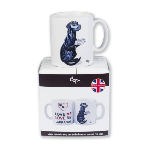 Labrador Mug Packaging