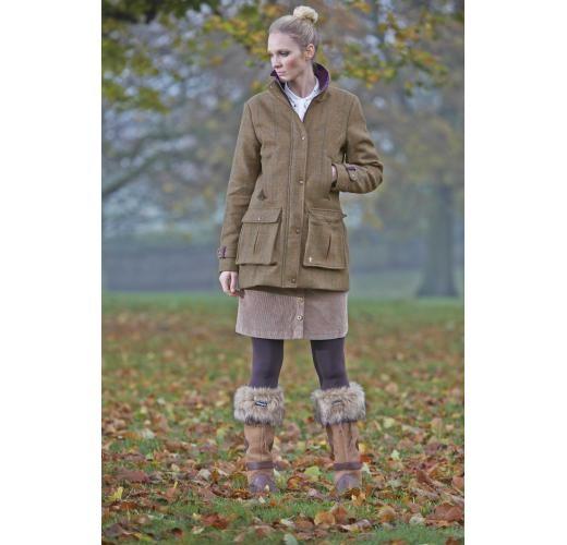 Toggi Braemar Ladies Tweed Coat image #