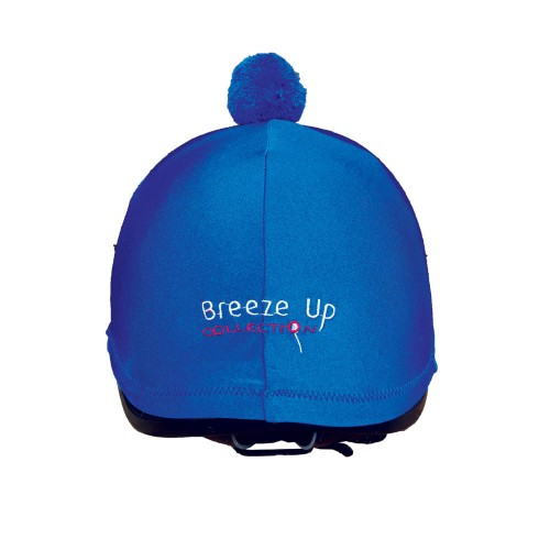 Royal Blue Breeze Up lycra cap