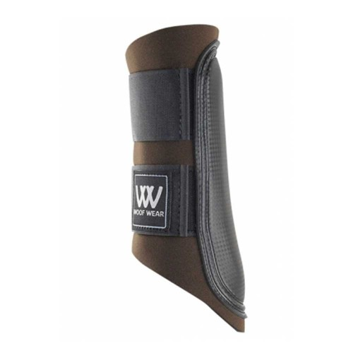Brown/ Black Straps Club Woof Boots