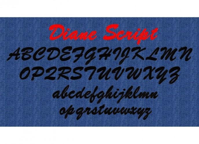 Embroidery Brush Script