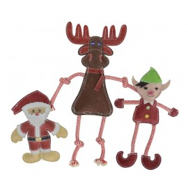 Santa Claus, Rudolf, Little Elf