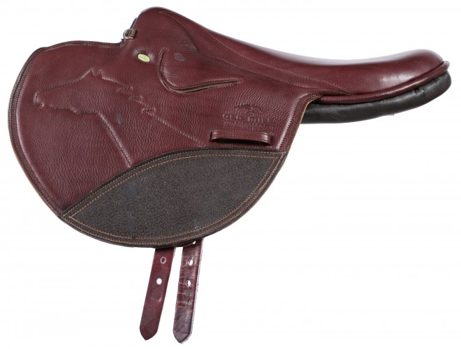 Old Mill Race Exercise Full Tree Saddle in brown