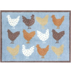 Chickens Turtle Mat