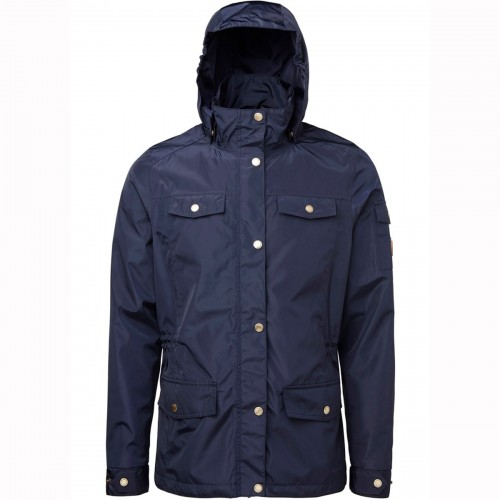 The Clare Jacket in navy by Mountain Horse
