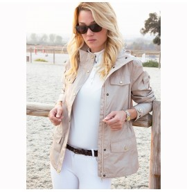 Clare Camel/Beige Jacket by Mountain Horse