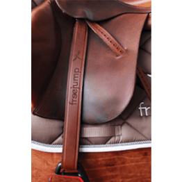 Freejump Classic Wide Stirrup Leathers