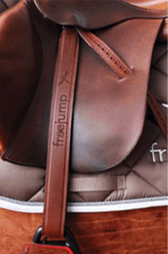 Freejump Classic Wide Stirrup Leathers image #