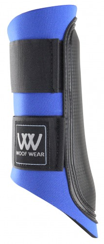 Blue with black straps Club Boot