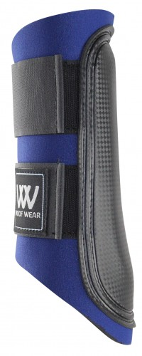 Navy with black straps Club Brushing boots
