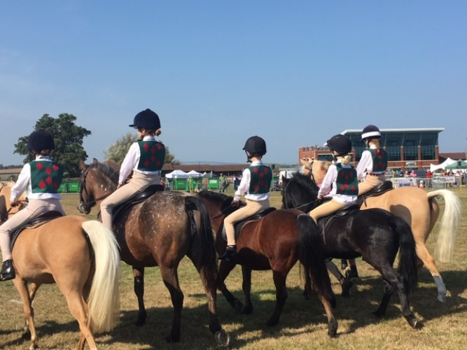 The Cotley Hunt Pony Club Mounted Games Team