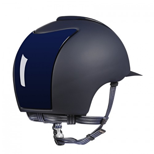 Kep Cromo T Polish in blue with front and back inserts and visor