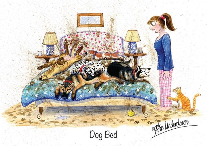 Dog Greeting Cards - Alex Underdown image #