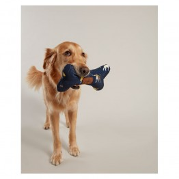 Joules Dog Print Bone Toy