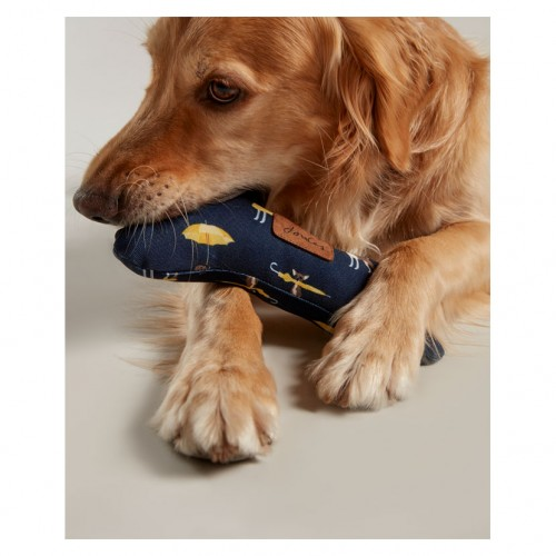 Joules Dog Print Bone Toy image #