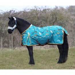 Dog Print 100g Turnout Rug